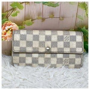 Authentic Louis Vuitton Darmier Azur Wallet